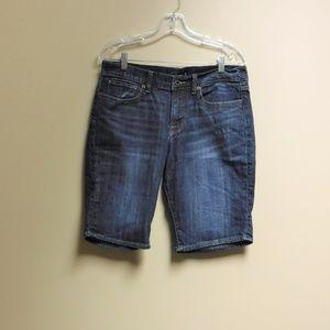 "Women's "" The Bermuda"" Denim Shorts Size 10/30"